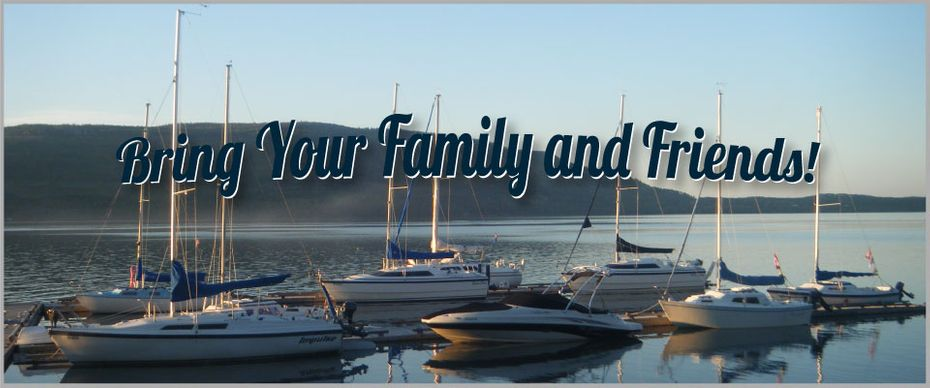 Bring Your Family & Friends! | Boats