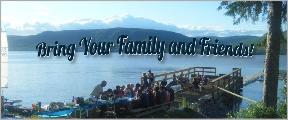 Bring Your Family & Friends! | Lake